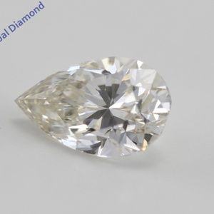 Pear Cut Loose Diamond 1.4 Ct WGI Cert C200243